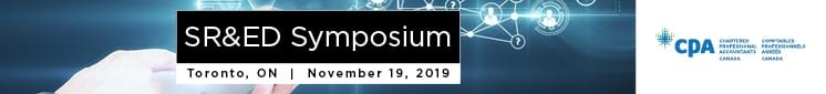 SR&ED Symposium - Nov 19, 2019